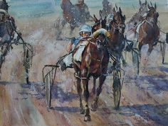 "Go by William Rogers Watercolor ~ 10.5"" x 14.25"""