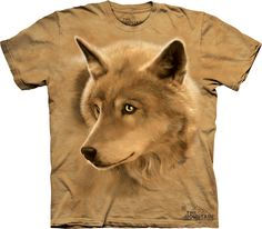 04f9f3fdd693 Golden Eyes T-Shirt - Wolf T-Shirts - Big Face Wolf T-Shirts - Wolves on t- shirts - wolf shirts - beautiful wolves - animal shirts with wolves -  christmas ...