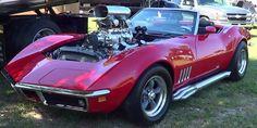 1969 Corvette Pro Street Crusin The Coast 2013 1000hp!