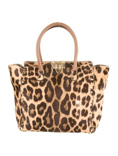 Valentino Rockstud leopard bag