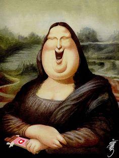 Mona Liza [Stabor] (Gioconda / Mona Lisa)