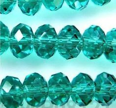 Dark Green Swarovski Crystal Gemstone Loose Beads by BeadYourBest, $0.49