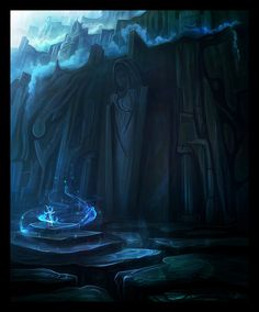 The Mountain Crypt by *nilTrace on deviantART