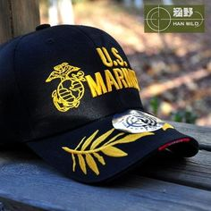 [Visit to Buy] New Tactical Marines Cap Mens Baseball Cap USA Army Black Water Hat Snapback Caps For Outdoor Adjustable Navy Seal Casquette #Advertisement