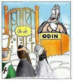 Odin at the Gate