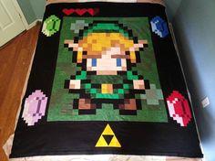 The Legend of Zelda ... by 8BitQuilt | Quilting Pattern