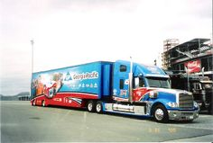 Nascar Trucks, Big Rig Trucks, Old Trucks, Semi Trucks, Heavy Duty Trucks, Heavy Truck, Freightliner Trucks, Peterbilt, Kyle Petty