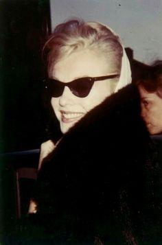 """Marilyn Monroe in New York, 1961. """