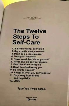 the twelve steps to self-care Wisdom Quotes, True Quotes, Motivational Quotes, Inspirational Quotes, Positive Affirmations, Positive Quotes, Citation Courage, Trust Your Instincts, Self Care Activities