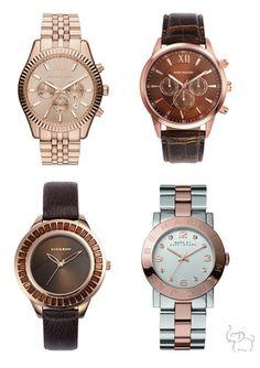 El oro rosa y lo vintage son tendencia en relojes este año. Nos encantan ¿y a ti? Puedes elegir tu reloj en las novedades de Viceroy >http://bit.ly/17pwWn9 Mark Maddox >http://bit.ly/1e3Esc8 Marc Jacobs >http://bit.ly/1cUYCba Michael Kors >http://bit.ly/1722K4m