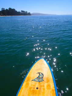 """Sparkly day on the 11'11"""" One World Surfari..."""
