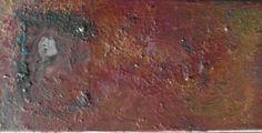 Adored. Encaustic oil.  Julie Sumerta 2014.
