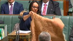 The first Aboriginal woman elected to Australia's lower house of parliament…