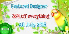 LemurDesigns: Ich bin Designer des Monats bei Withlovestudio.net...