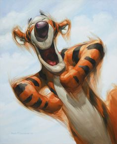 High Bouncin' Tigger!  Also known as the Holy Spirit just waiting to burst through the door and help anyway He can!