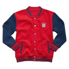 FC Bayern College jacket used Kids - Official FC Bayern Online Store (рост 164)))