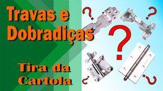 Travas e Dobradiças para Cartonagem | Helô Tira da Cartola - Heloisa Gim...