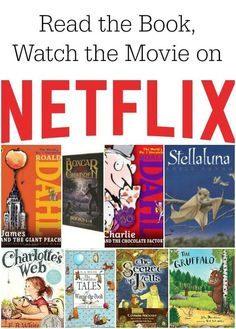 Read the Book. Watch the Movie on Netflix Streaming!