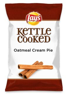 Wouldn't Oatmeal Cream Pie be yummy as a chip? Lay's Do Us A Flavor is back, and the search is on for the yummiest flavor idea. Create a flavor, choose a chip and you could win $1 million! https://www.dousaflavor.com See Rules.