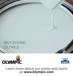 SKY DIVING OL746.2 is a part of the aquas collection by Olympic® Paint.
