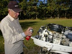 Winterizing a boat engine                                                                                                                                                                                 More