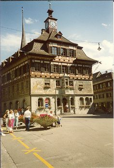 Clock Shop Triberg in the Black Forest Germany - 1.988