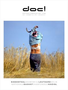 Cover of doc! photo magazine #6.  Cover photo: Chris Niedenthal.