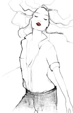Drawing by Garance Dore