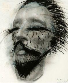 Arnulf Rainer (born 8 December in Baden, Austria), is an Austrian painter and is internationally renowned for his abstract informal art. Arnulf Rainer, Mental Health Art, Wolfgang Tillman, Face Art, Art Techniques, Figurative Art, Mixed Media Art, Printmaking, Surrealism