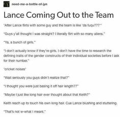 Yes it is Lance don't lie