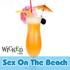Wicked e-Juice is the manufacturer of the latest technology E Cigarette and the only distiller of E Juice in Ireland Hurricane Glass, Taste Buds, Wicked, Juice, Exotic, Paradise, Drinks, Eat, Tableware