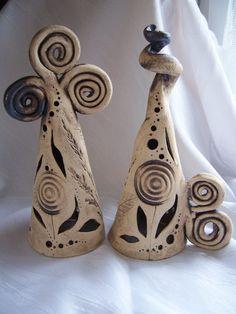 Kegelkunst 2er Set von Keramikwerkstatt - Conni`s Keramik und ausgefallene…