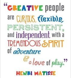 Henri Matisse, a favorite artist