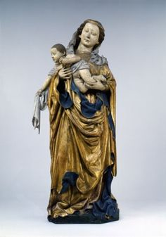 Jakob Kaschauer, Maria mit Kind vom Hochaltar des Domes zu Freisingn (1443, Bayerisches Nationalmuseum, München)