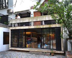 concrete box -insertion house | tetawowe atelier