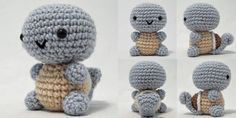 Check out this adorable squirtle I Crochet Things Made.  Perfect project for Vanna's Palettes.