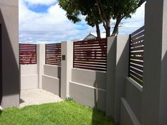 brick wall fence design google search - Wall Fencing Designs
