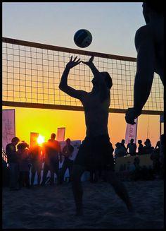 Beach Volleyball in Tel Aviv