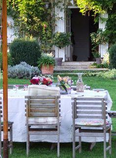 Splendid Sass: DINING ALFRESCO