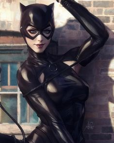 Catwoman is here
