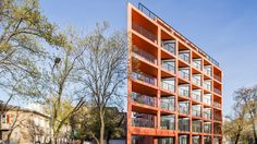 BBGK highlights Polish prefabrication in brick-red concrete - News - Mark Magazine