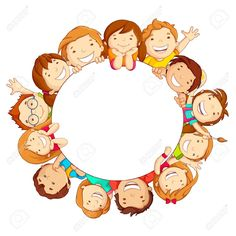 Find Vector Illustration Happy Kids Around Circular stock images in HD and millions of other royalty-free stock photos, illustrations and vectors in the Shutterstock collection. Page Borders, Borders And Frames, Happy Children's Day, Happy Kids, School Border, Kids Background, School Clipart, Child Day, Child Smile