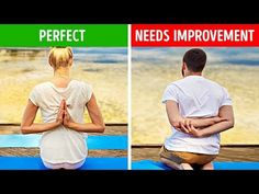 12 Everyday Stretches That Will Help You Stay Flexible And Fit At Any Age The first of all: Be situated with some great stance. Flexibility Test, Shoulder Flexibility, Flexibility Workout, Back Leg Muscles, Stretching Exercises, Body Exercises, Everyday Stretches, Second Best, Jawline
