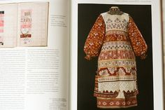 traditional Russian embroidery on costume