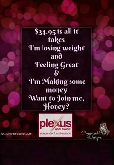 Go to www.trulyblessed.us to join our awesome team  #plexusrocks #healthyliving