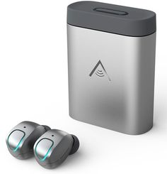 Give the music lover in your life the gift of freedom with these wireless earbuds from SkyBuds. Unlike other seemingly wireless competitors, the SkyBuds are completely free of any cables, wires or headbands.