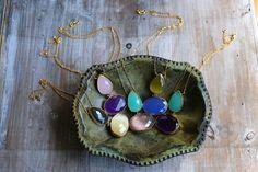 Collar T  #collar ##necklace #piedrasnatutales #natutalstones #jewels #jewellery #jewelery #fashion #invitdaperfecta