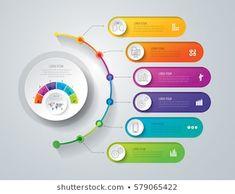Timeline Infographic Design Vector Marketing Icons Image vectorielle de stock (libre de droits) de 543345655 - Shutterstock