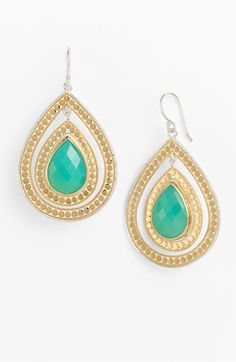 Gili Double Drop Earrings. Anna Beck.