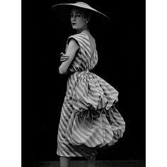 1951 - Balenciaga dress by Philippe Pottier